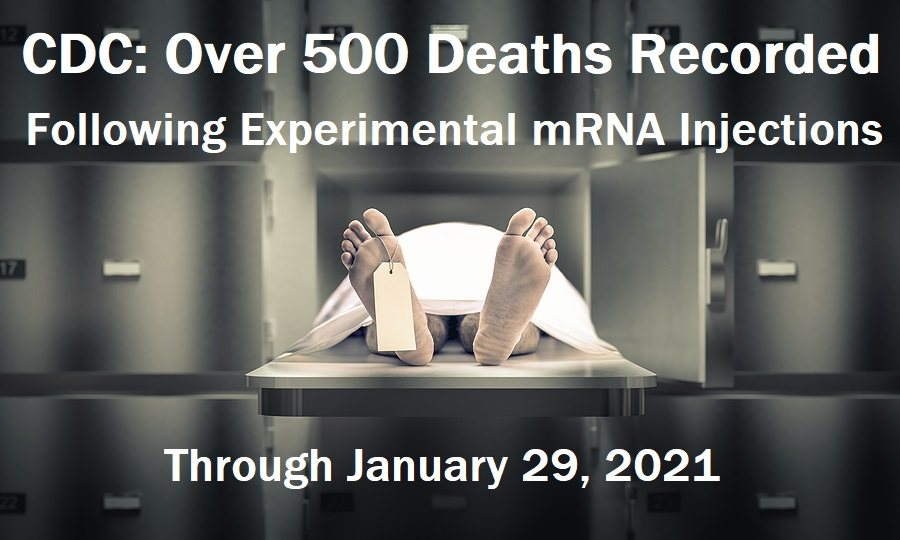 Wisconsin Resident Doctor has Miscarriage 3 Days After Being Injected with Experimental COVID mRNA Shot CDC-VAERS-Deaths-1.29jpg