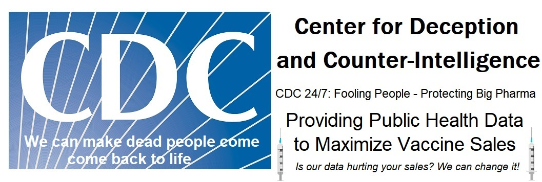CDC Now Reports FEWER Total Deaths Following COVID Injections than Last Week – Can We Trust ANY of Their Data? CDC-logo-HIN-version-3