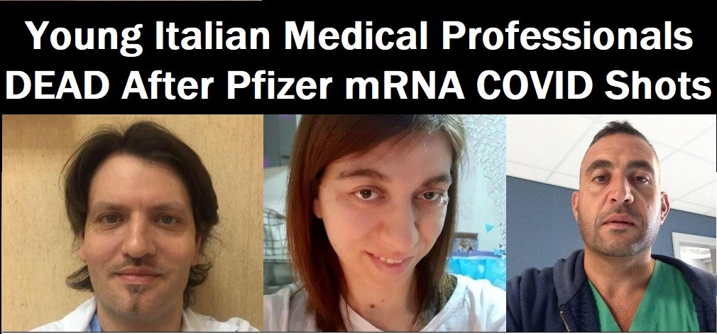 Wisconsin Resident Doctor has Miscarriage 3 Days After Being Injected with Experimental COVID mRNA Shot Italian-Medical-Professionals-Dead-COVID-Shots