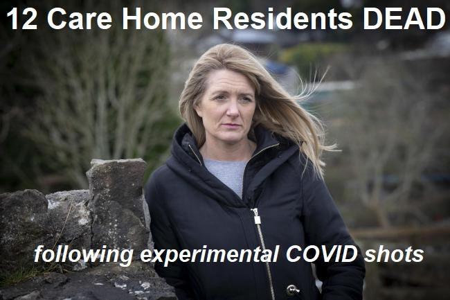 12 Bewohner sterben nach der ersten COVID-Impfung in einem Pflege- und Demenzzentrum in Wales