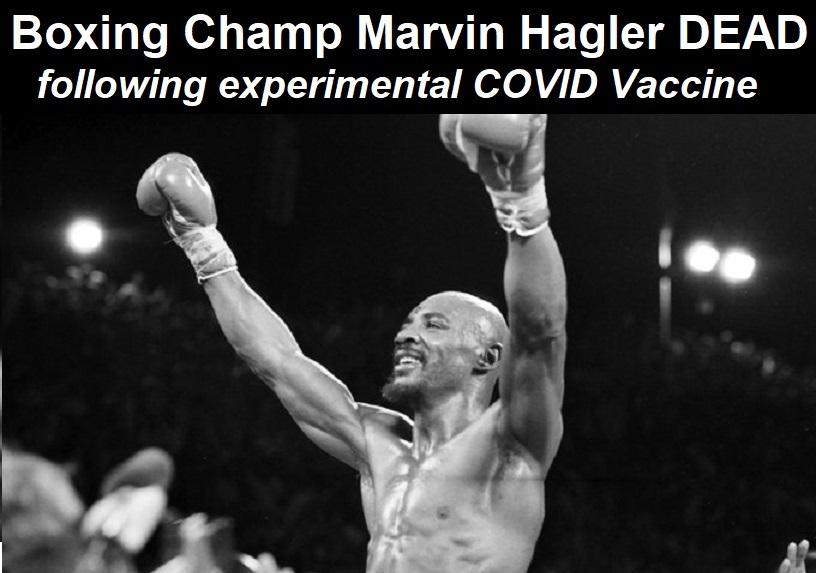 Nach Erhalt des experimentellen Impfstoffs stirbt Box-Champion Marvin Hagler im Alter von 66 Jahren | uncut-news.ch