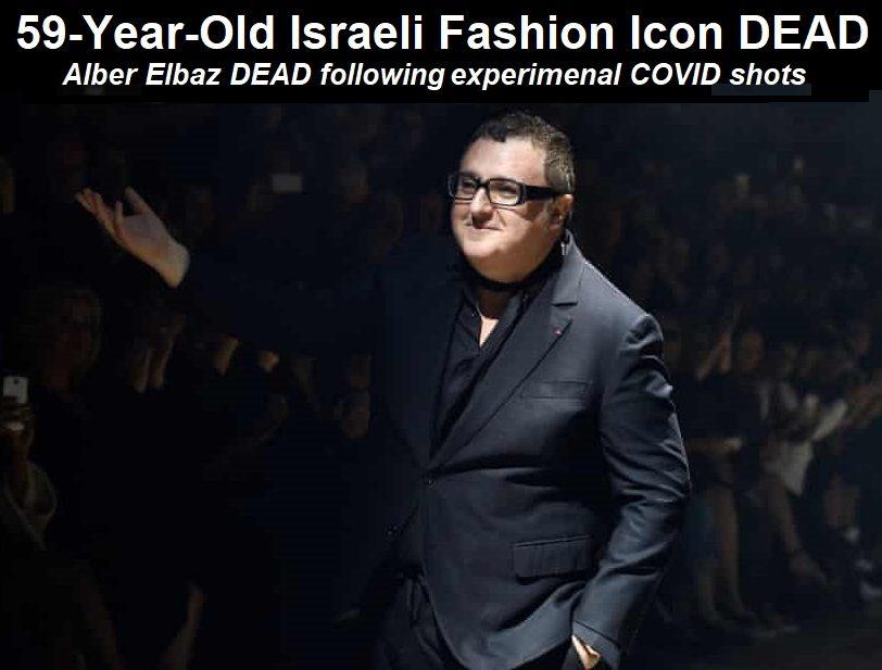 """Mode-Ikone Alber Elbaz stirbt, nachdem er die """"vollständige Impfung"""" erhalten hatte"""