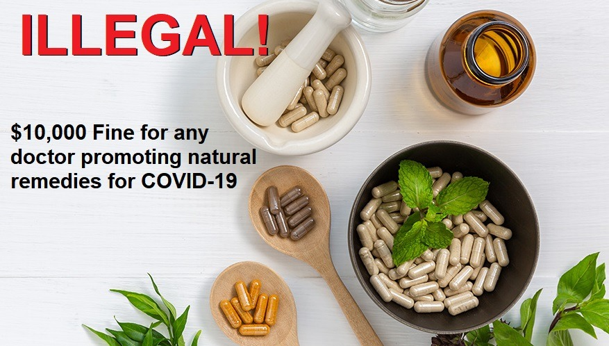 COVID Natural Remedies BANNED as DOJ and FTC Seek to Silence Doctors Promoting Vitamin D, C, Zinc, etc. COVID-natural-remedies-BANNED
