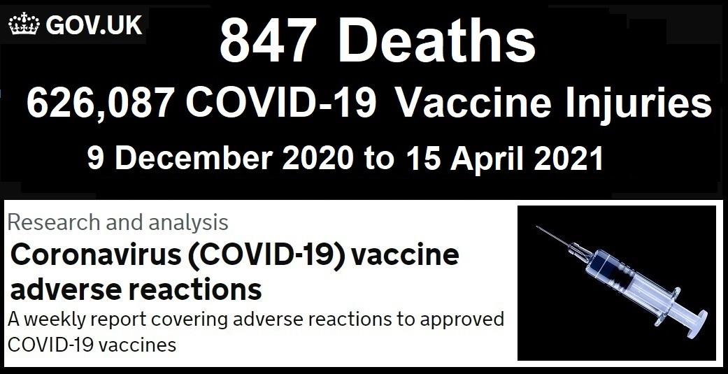 Eudra Database Vax Stats Update to April 10th 2021 UK-COVID-Vaccine-Adverse-Reactions-Report-4.15.21jpg
