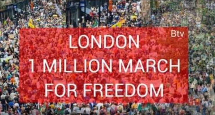 1 Million Hit the Streets in London to Fight for Freedom – While Millions of Americans Mask up and Go on Vacation for Memorial Day London-1-million-march-for-Freedom