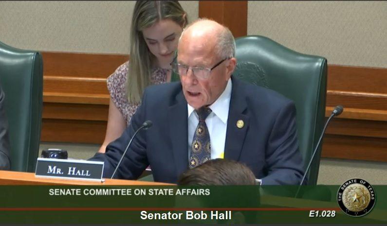Medical Doctors Testify Before State Senate in Texas! Senator-Bob-Hall-Texas