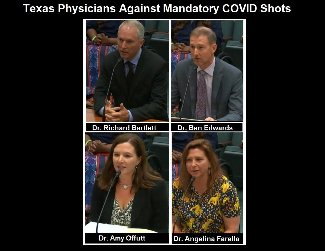 Medical Doctors Testify Before State Senate in Texas! Texas-Physicians-Against-Mandatory-COVID-Shots
