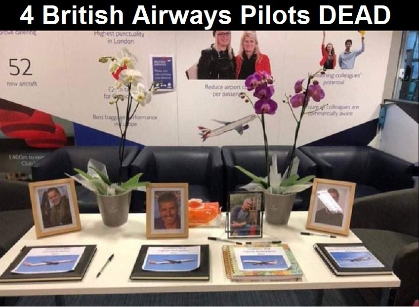 """4 British Airways Pilots DEAD Following COVID-19 Injections While Spain and Russia Prohibit """"Vaccinated"""" From Air Travel British-Airways-pilots-dead-2"""