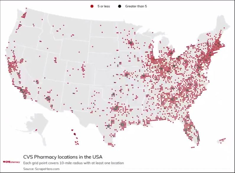 Pharmacist Quits CVS Job Over Refusal to Kill People with COVID-19 Shots and Becomes a Whistleblower  CVS-locations-US