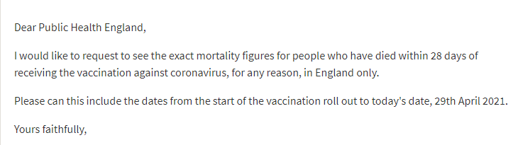 FOIA Reveals 5,522 People have Died Within 28 Days of Receiving COVID-19 Vaccines in Scotland PHE-statement