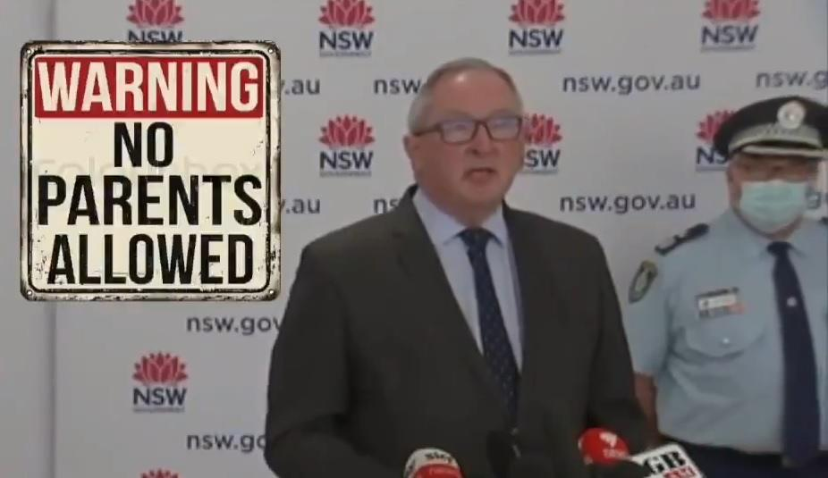 Australian Police Attacking and Pepper-Spraying Children for not Wearing Masks! New-South-Wales-Health-Minister-Brad-Hazzard