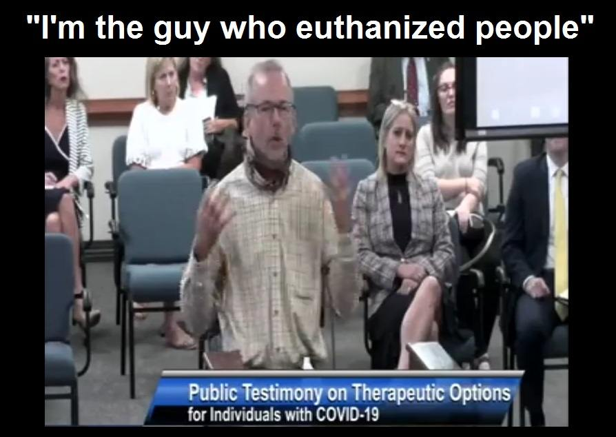 Pulmonary Nurse of 31 Years Testifies How he Unknowingly Killed Patients by Following COVID Protocols Albert-Spence2