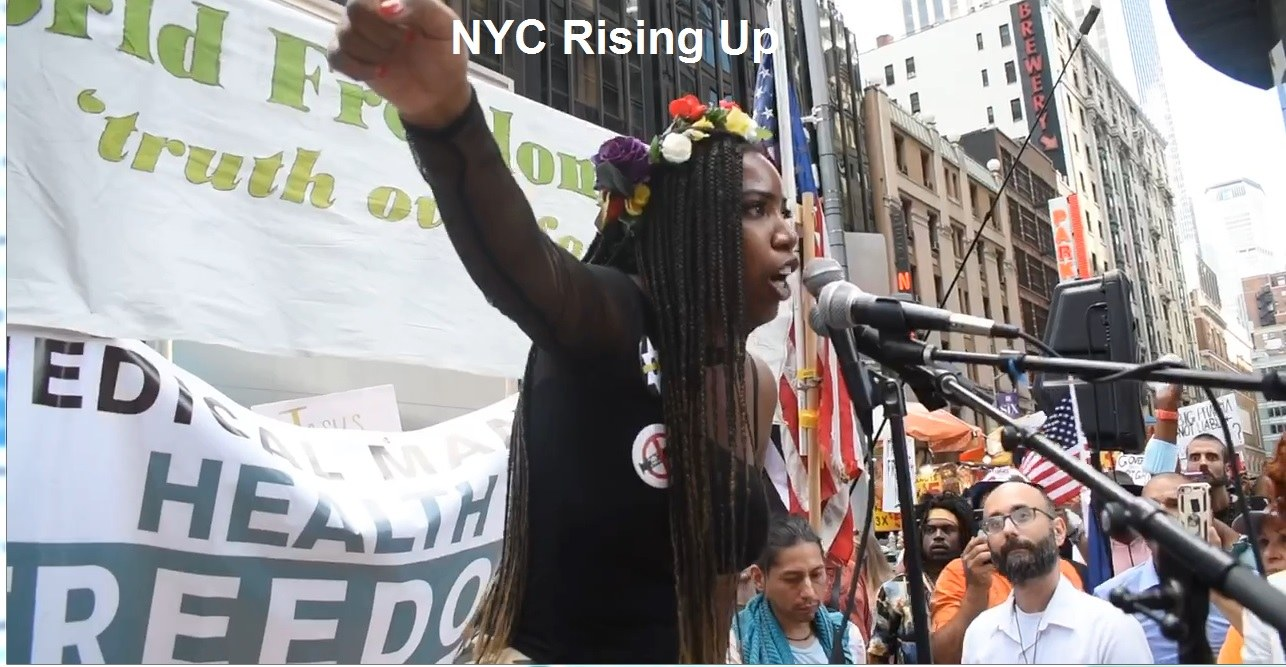 New Yorkers Rising Up as Mandatory COVID Shot Deadline Looms – Citywide Walk Out Planned Same Day NYC-Rising-Up