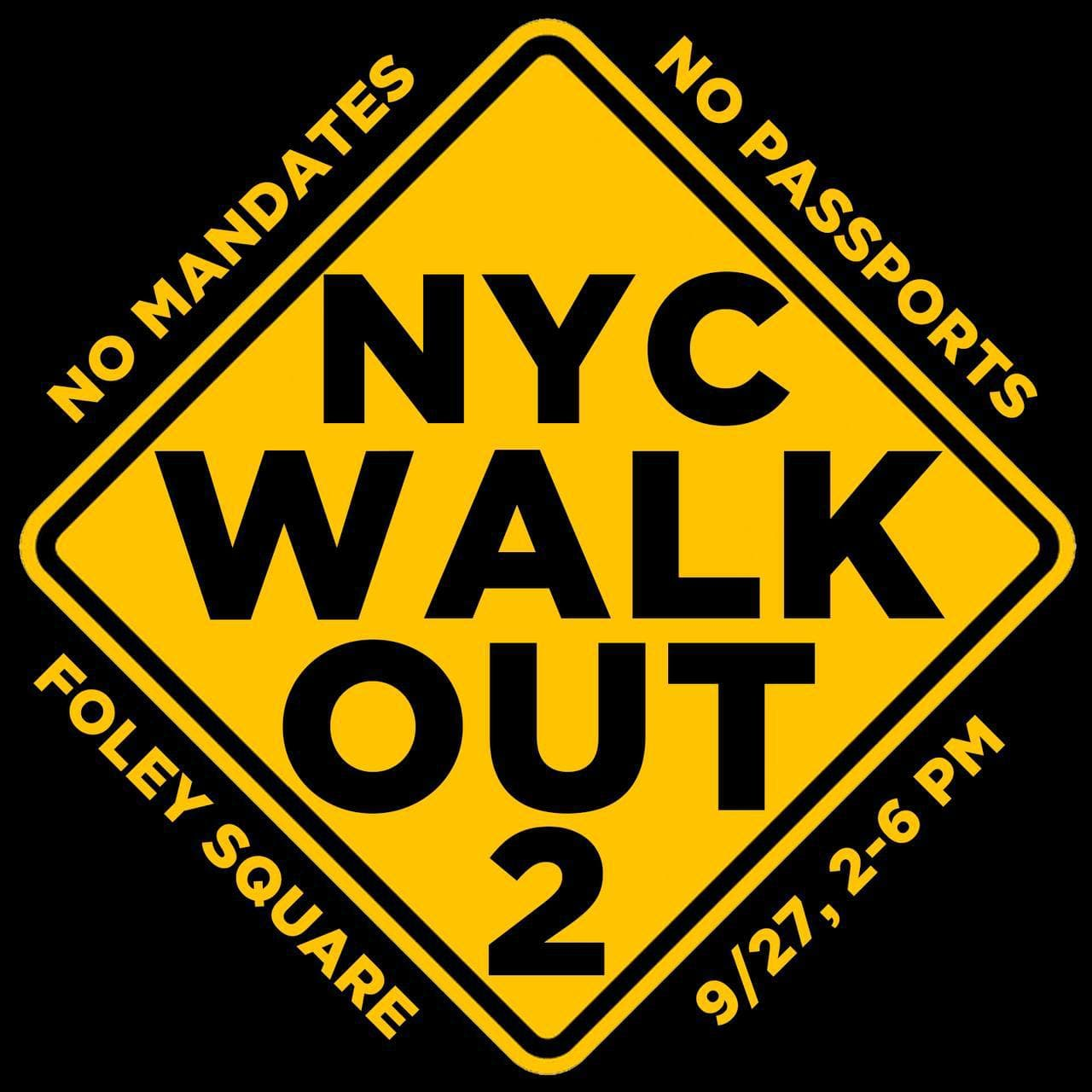 New Yorkers Rising Up as Mandatory COVID Shot Deadline Looms – Citywide Walk Out Planned Same Day NYC-Walk-Out