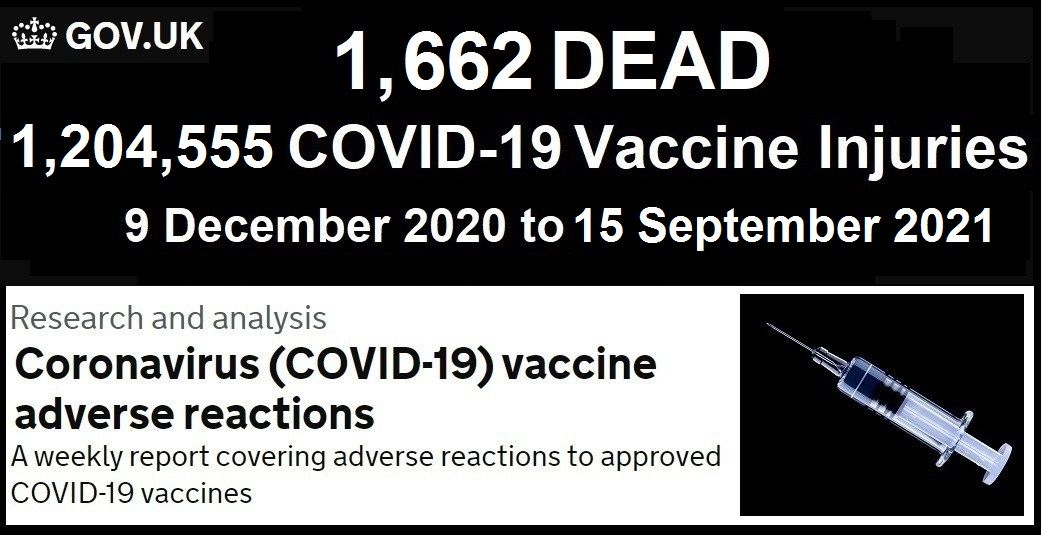UK Medicine Regulator Confirms Injury and Fatality Stats UK-COVID-Vaccine-Adverse-Reactions-Report-9.24