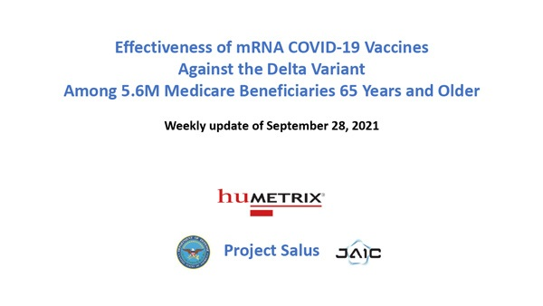 """BREAKING: Data Analysis Program Named """"Project Salus"""" SHATTERS Official Vaccine Narrative Salus-Humetrix-VE-Study-01-600"""
