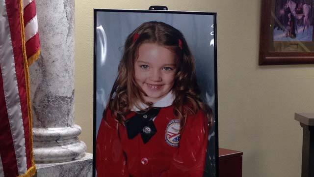 5-year-old Kiera Driscoll