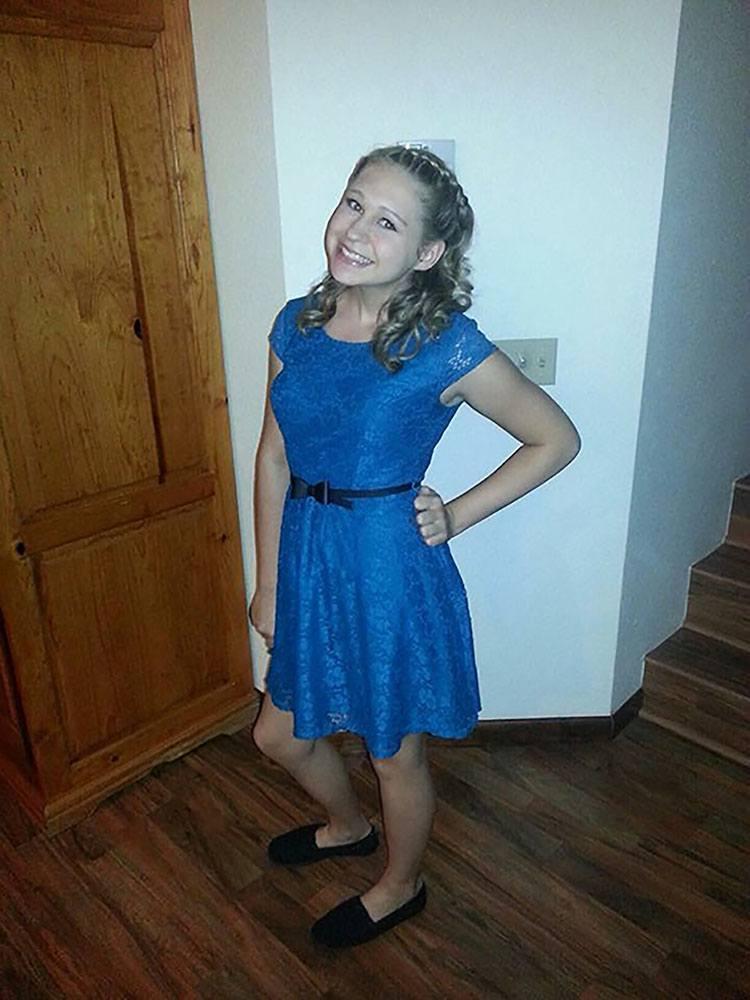 Jasmyne Gramza in October. Gramza developed an autoimmune disorder after she received her third done of Gardasil.