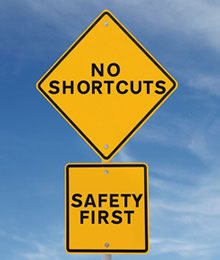 no-shortcuts-safety-first