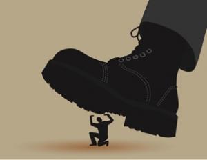 boot-of-state-crushing-man