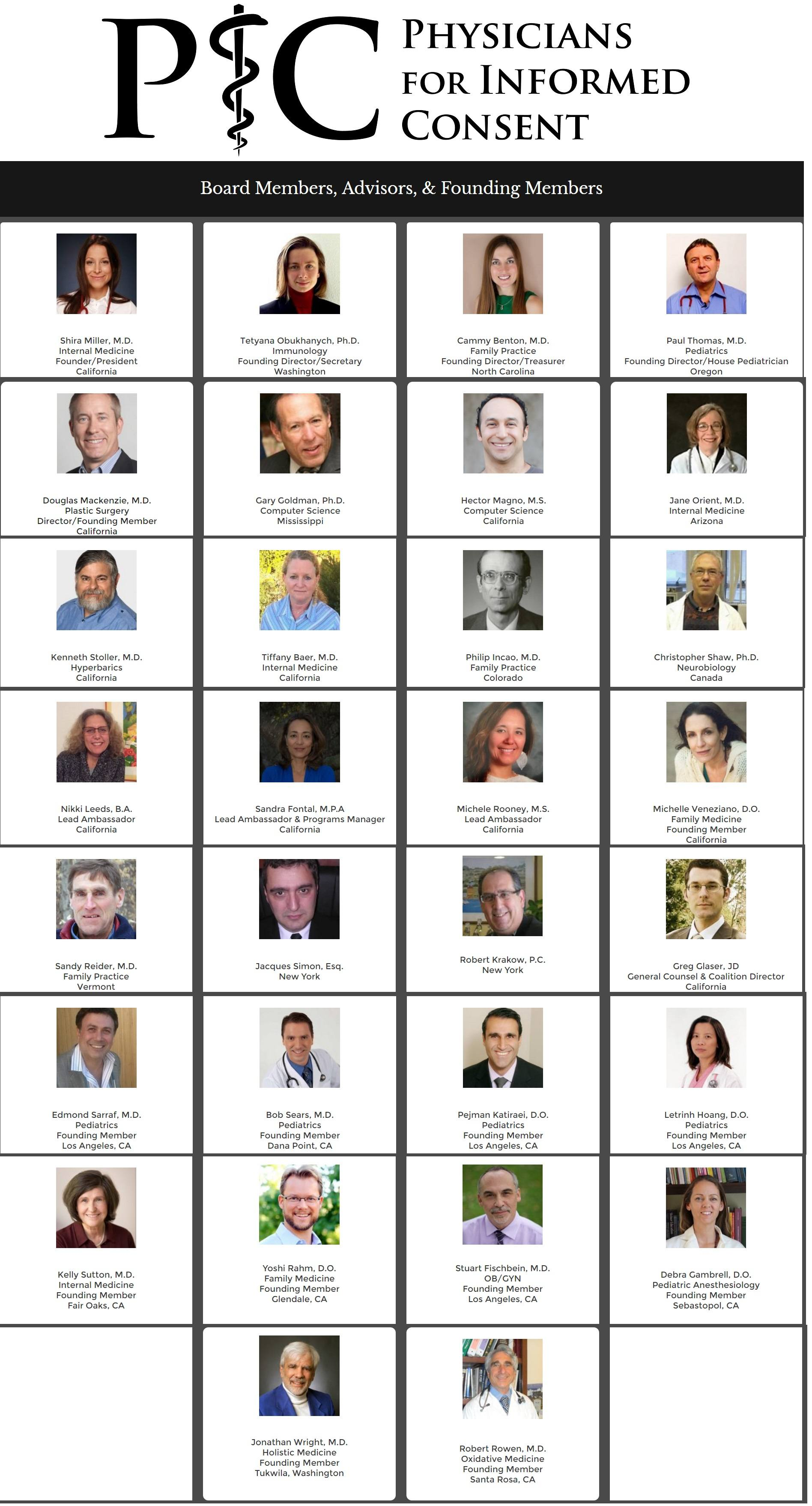 Physicians Informed Consent Leaders