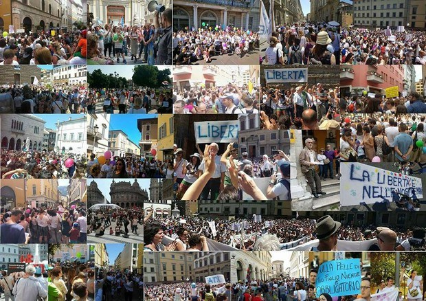 Italians Take to the Streets to Protest New Mandatory Vaccination Law Vaccine-protests-Italy