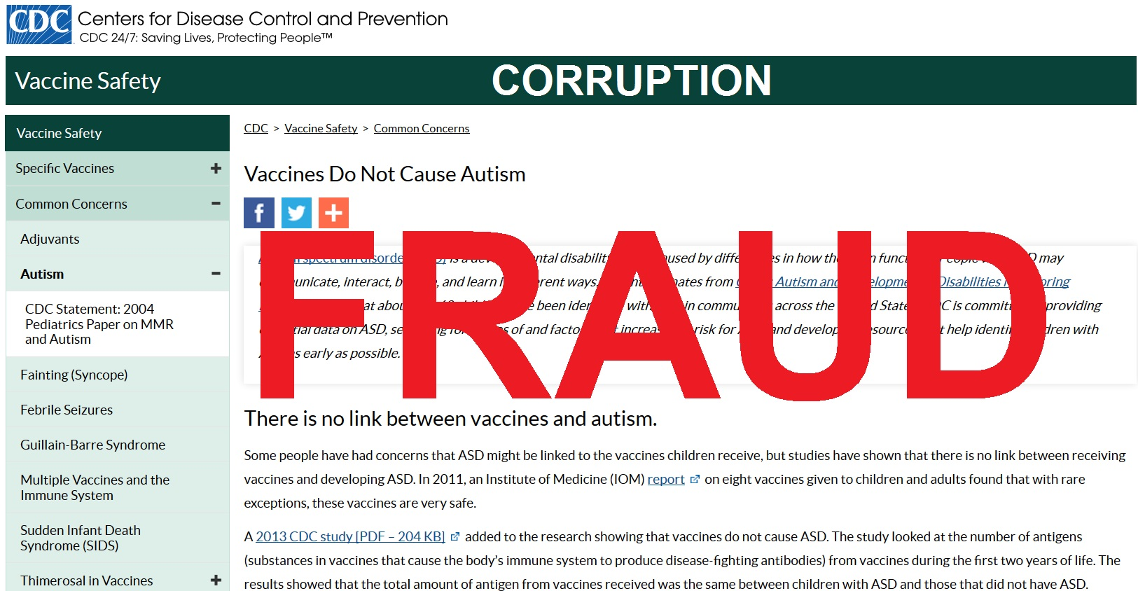 CDC: 329 Recorded Deaths So Far Following Experimental COVID mRNA Injections in the U.S. CDC-Fraud-Corruption