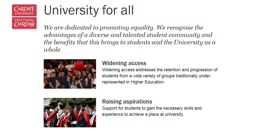 Cardiff University for All
