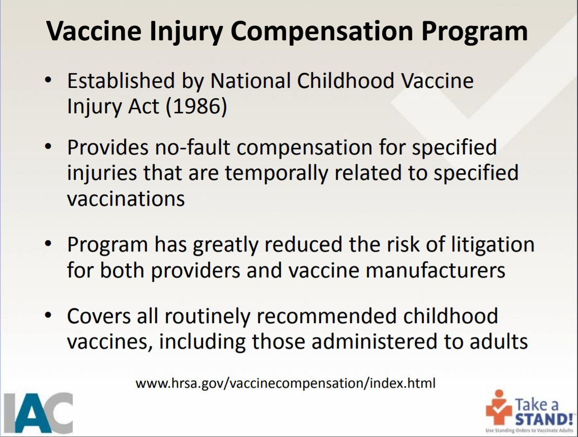take-a-stand-National Vaccine Compensation Program