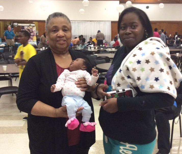Milwaukee Healthy Beginnings Milwaukee African American Infant Mortality Task Force Patricia McManus holding baby