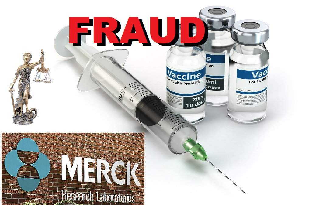 Merck Vaccine Fraud image concept