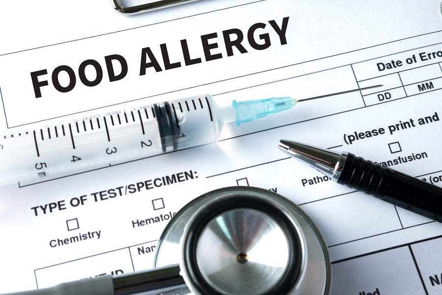 Allergy food concept image
