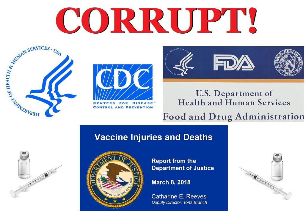 CDC FDA Corrupt Vaccines