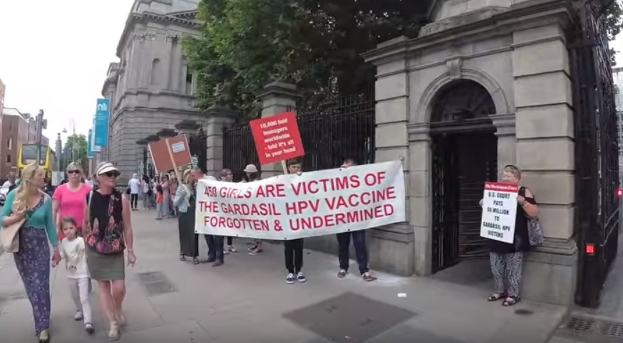 Ireland HPV protests