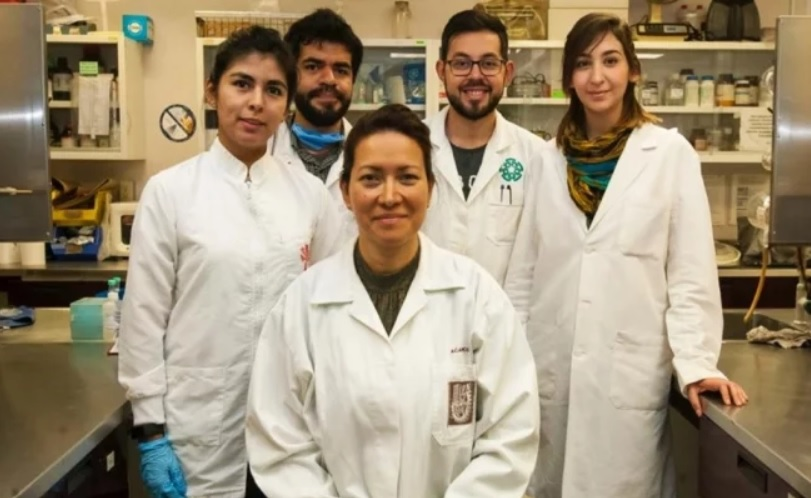 Eva Ramón Gallegos with colleagues