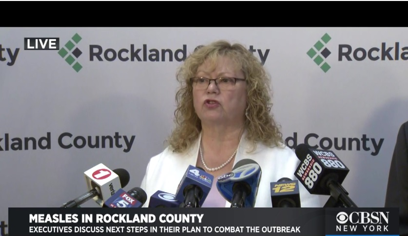 Rockland County Commissioner of Health Dr. Patricia Schnabel Ruppert