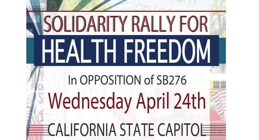 rally poster SB276 FB