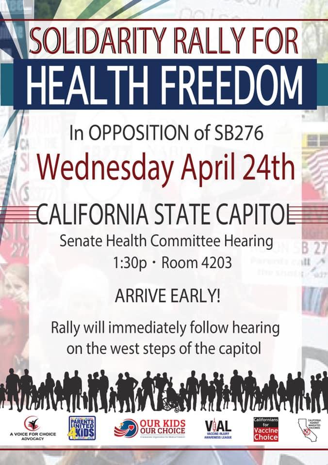 rally poster SB276