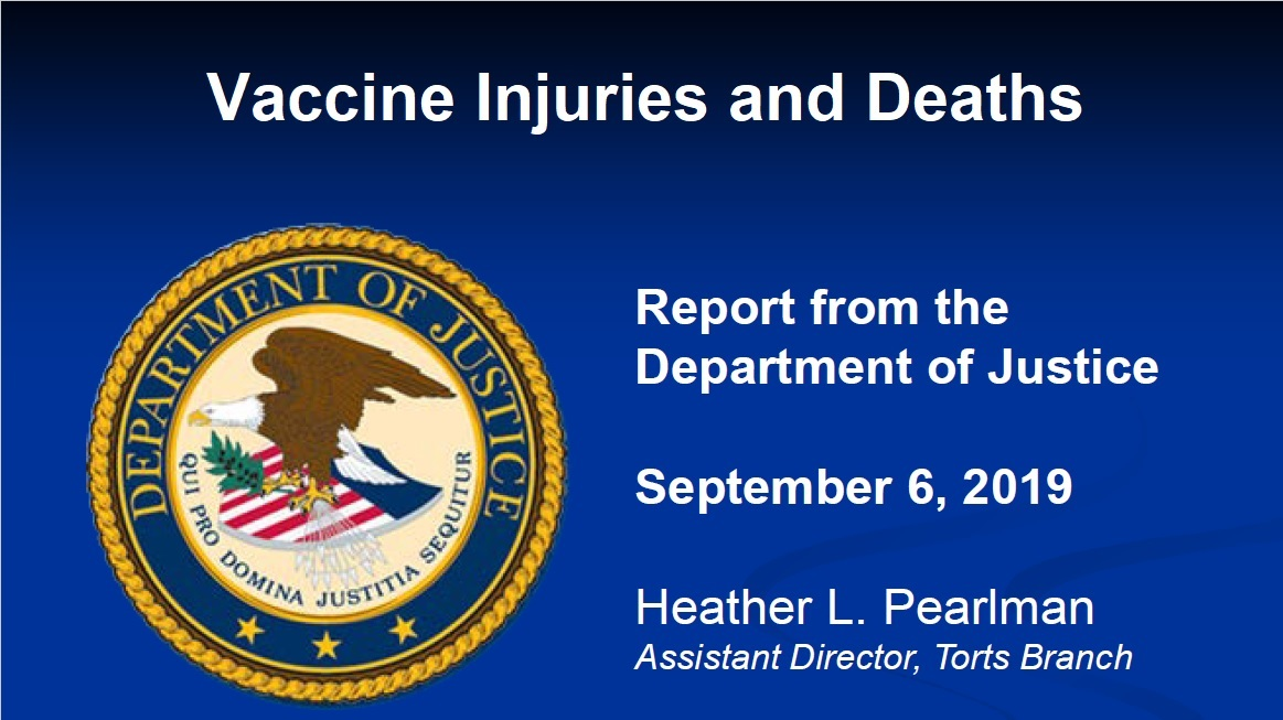 September Government Report Shows $206 Million Paid so far in 2019 for Vaccine Injuries and Deaths