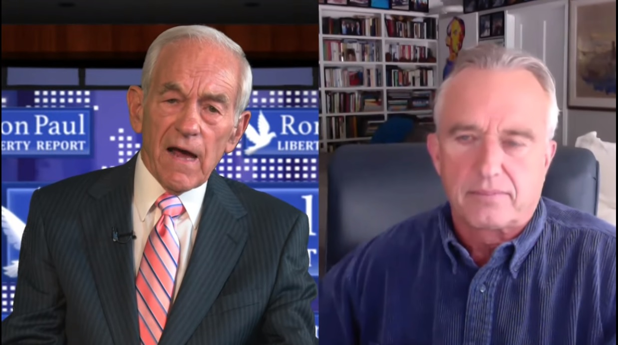 Dr. Ron Paul Interviews Robert F. Kennedy, Jr. Who Admits the CIA Killed his Father and Uncle Ron-Paul-Robert-F.-Kennedy-Jr